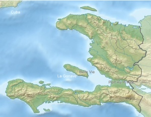 Haiti and La Gonave Map