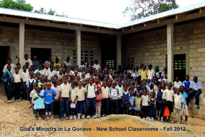 La Gonave New School and Children