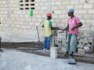 GML Cistern Construction rebar