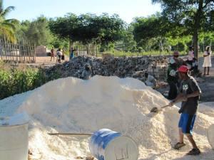 GML Cistern Construction Sand